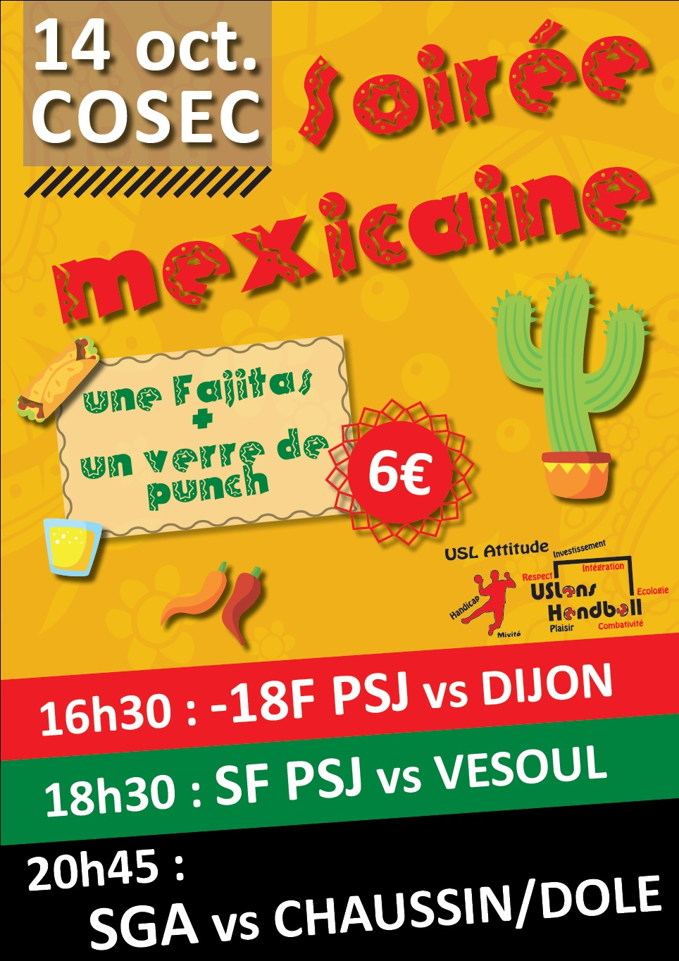 soireeUSL mexicaine oct 17